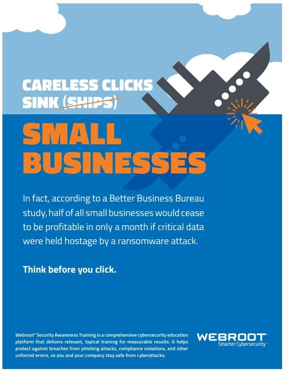 Webroot small business posters